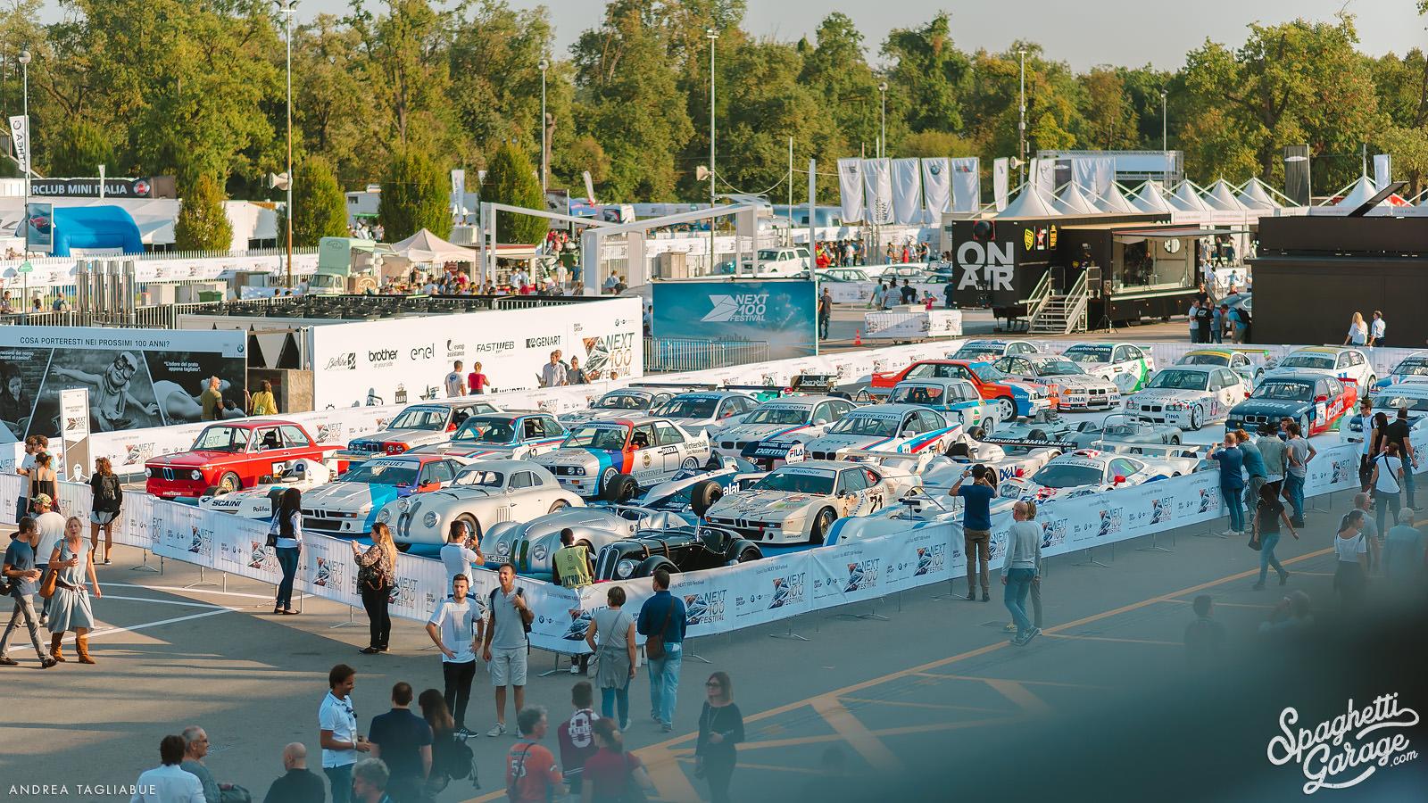 A century of Bavarian Motor Works: BMW Next 100 Autodromo di Monza