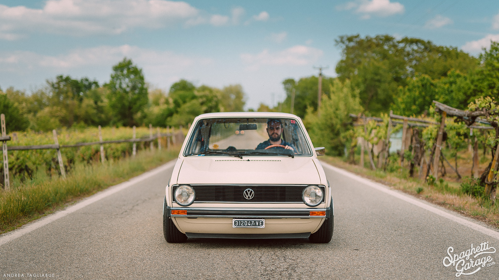 A gem hidden in the vineyards: Paolo's Golf 1 swallowtail