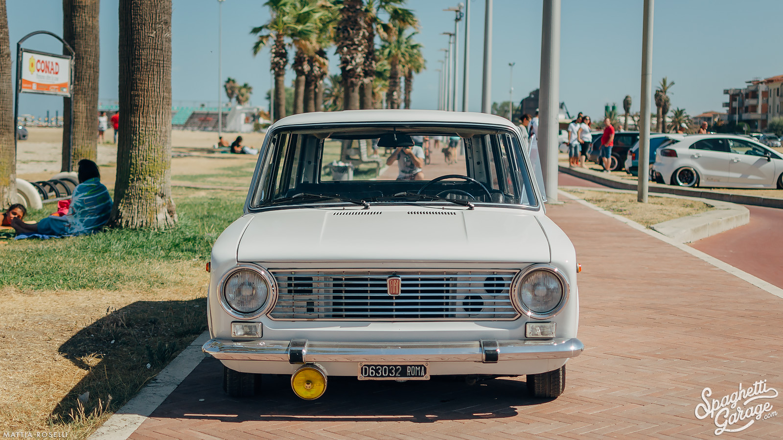 Laying on the ground 50 years later: 1967 Fiat 124 Familiare